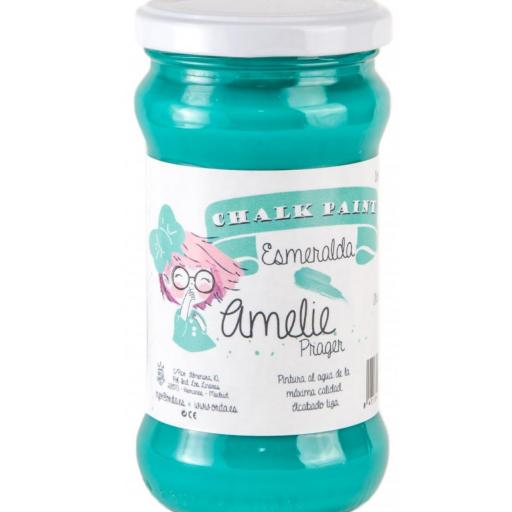 CHALK PAINT AMELIE  280ML COLOR 37 ESMERALDA