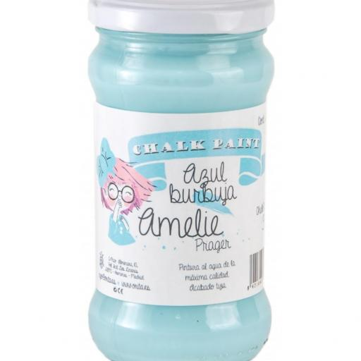 CHALK PAINT AMELIE  280ML COLOR 38 AZUL BURBUJA