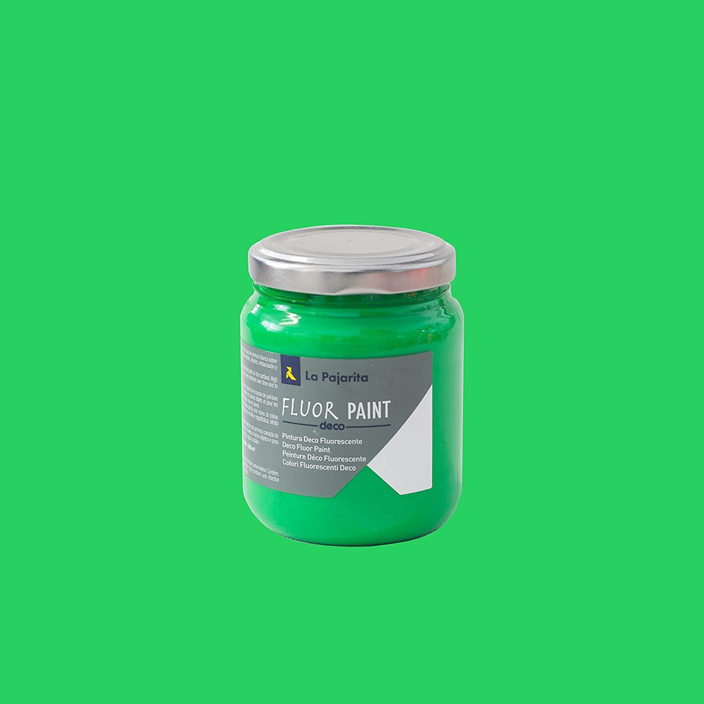 DECO FLUOR PAINT COLOR GREEN 175ML