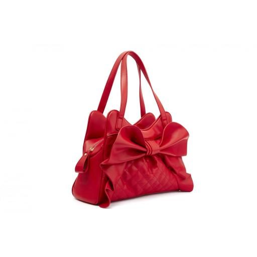 DRAPER QUILTED RED BAG (LOLA RAMONA - BETTIE PAGE) [1]