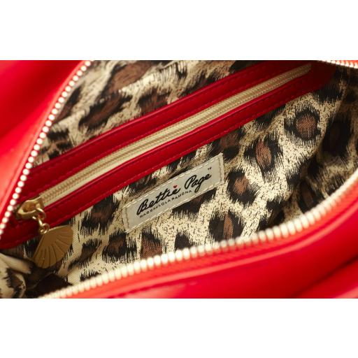 DRAPER QUILTED RED BAG (LOLA RAMONA - BETTIE PAGE) [3]