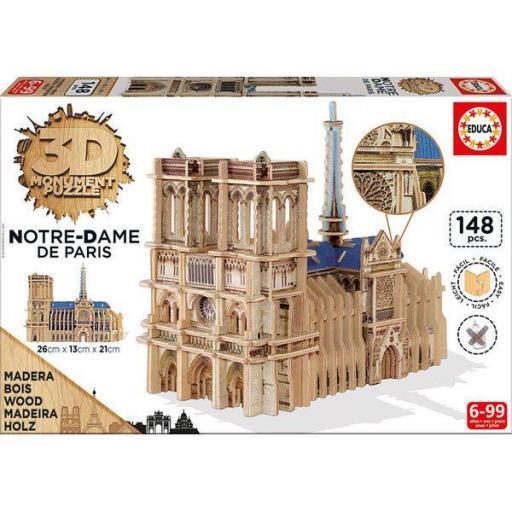 PUZZLE 3D SCULPTURE NOTRE DAME DE PARIS  [2]