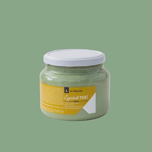 EGGSHELL PAINT GREEN GREY 500ML