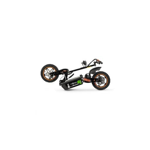 ASPIDE - PATINETE-SCOOTER ELECTRICO ESTILO MOTO, PLEGABLE Y MOTOR 2000W. COLOR NEGRO -NARANJA - Referencia: CHES-001B/NEGRO-NARANJA [2]