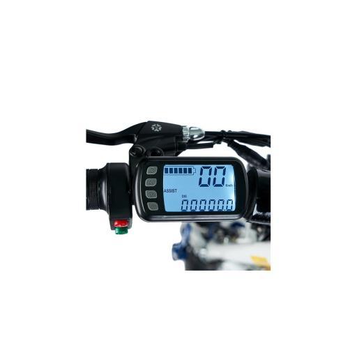SPARROW + CASCO ECOXTREM - SCOOTER ELECTRICO - POTENCIA 1600W/2000W - PANTALLA LCD - Referencia: SPA-20/WHITE [3]