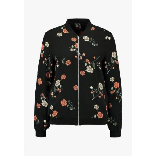 VERO MODA  VMFALLIE LS BOMBER EXP COLOR BLACK MFALLIE REF. 10232532 [0]