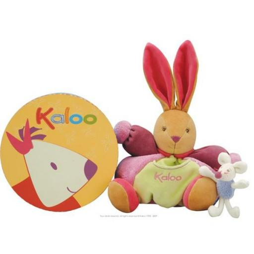 KALOO MEDIUM CHUBBY RABBIT AND HER MINI MOUSE REF.: 9629020