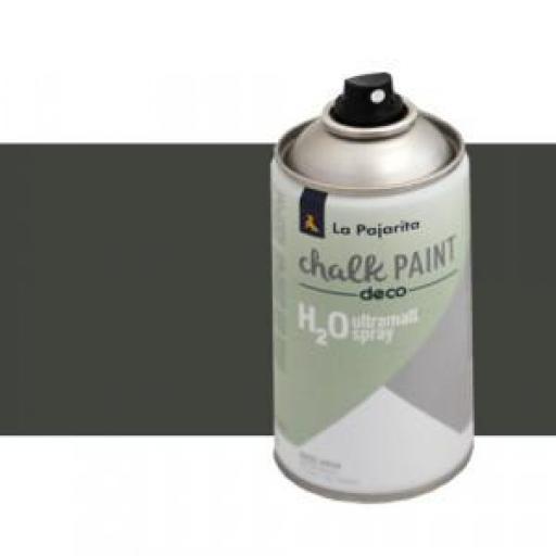 LA PAJARITA CHALK PAINT SPRAY COLOR CASI NEGRO 300 ML