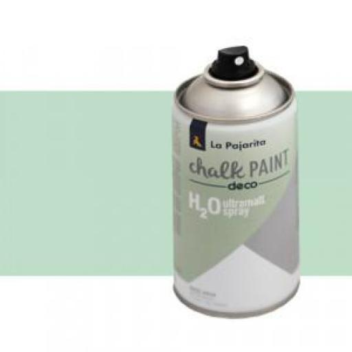 LA PAJARITA CHALK PAINT SPRAY COLOR MINT 300 ML