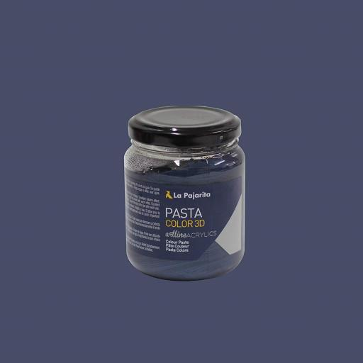 LA PAJARITA PASTA COLOR PC 3D COLOR AZUL MARINO TORNASOL 175ML