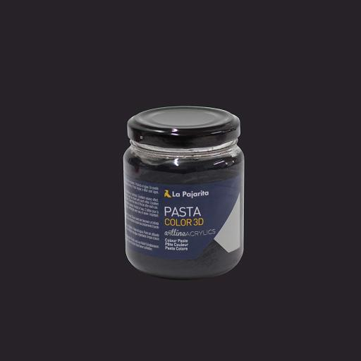 LA PAJARITA PASTA COLOR PC 3D COLOR NEGRO 175ML