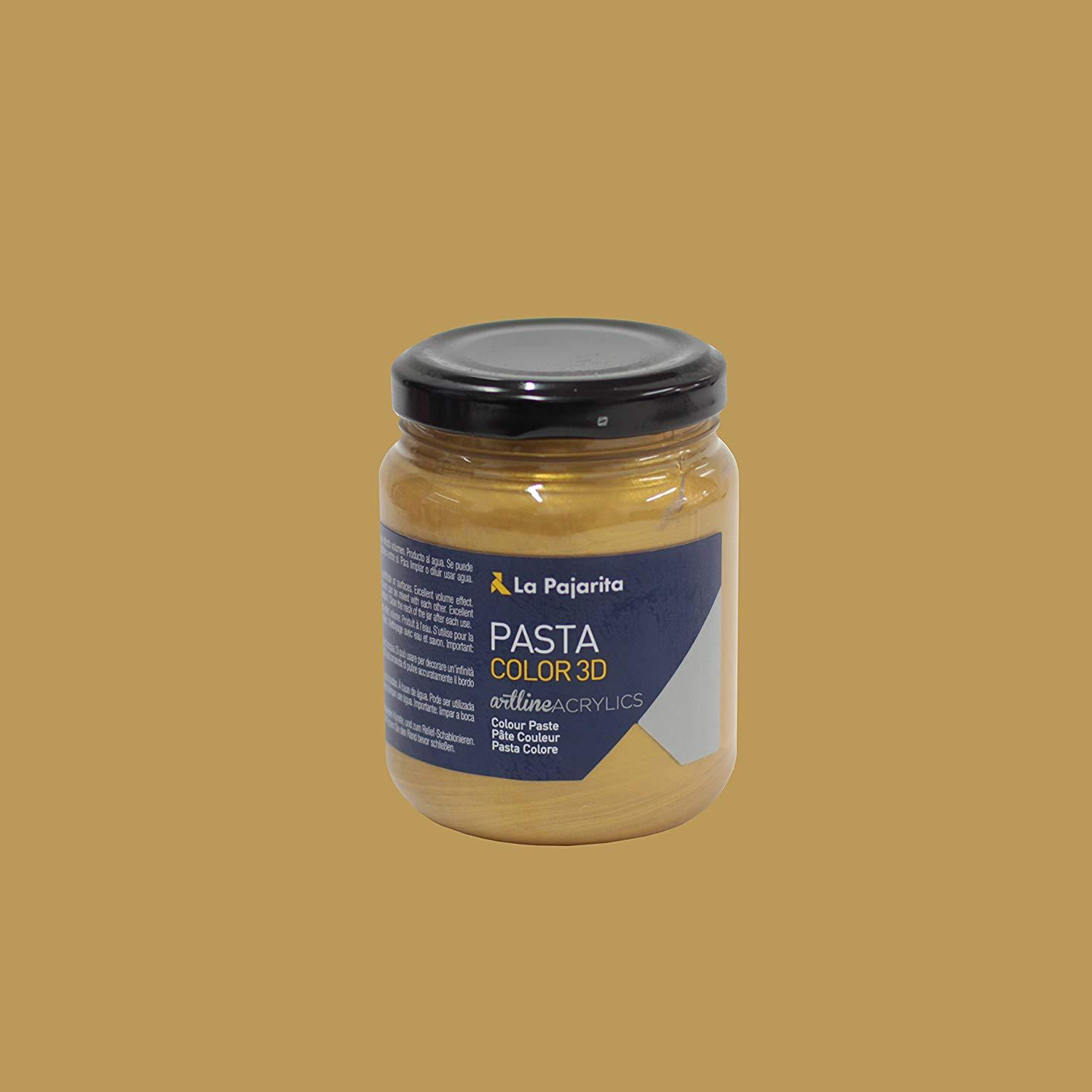 LA PAJARITA PASTA COLOR PC 3D COLOR ORO 175ML