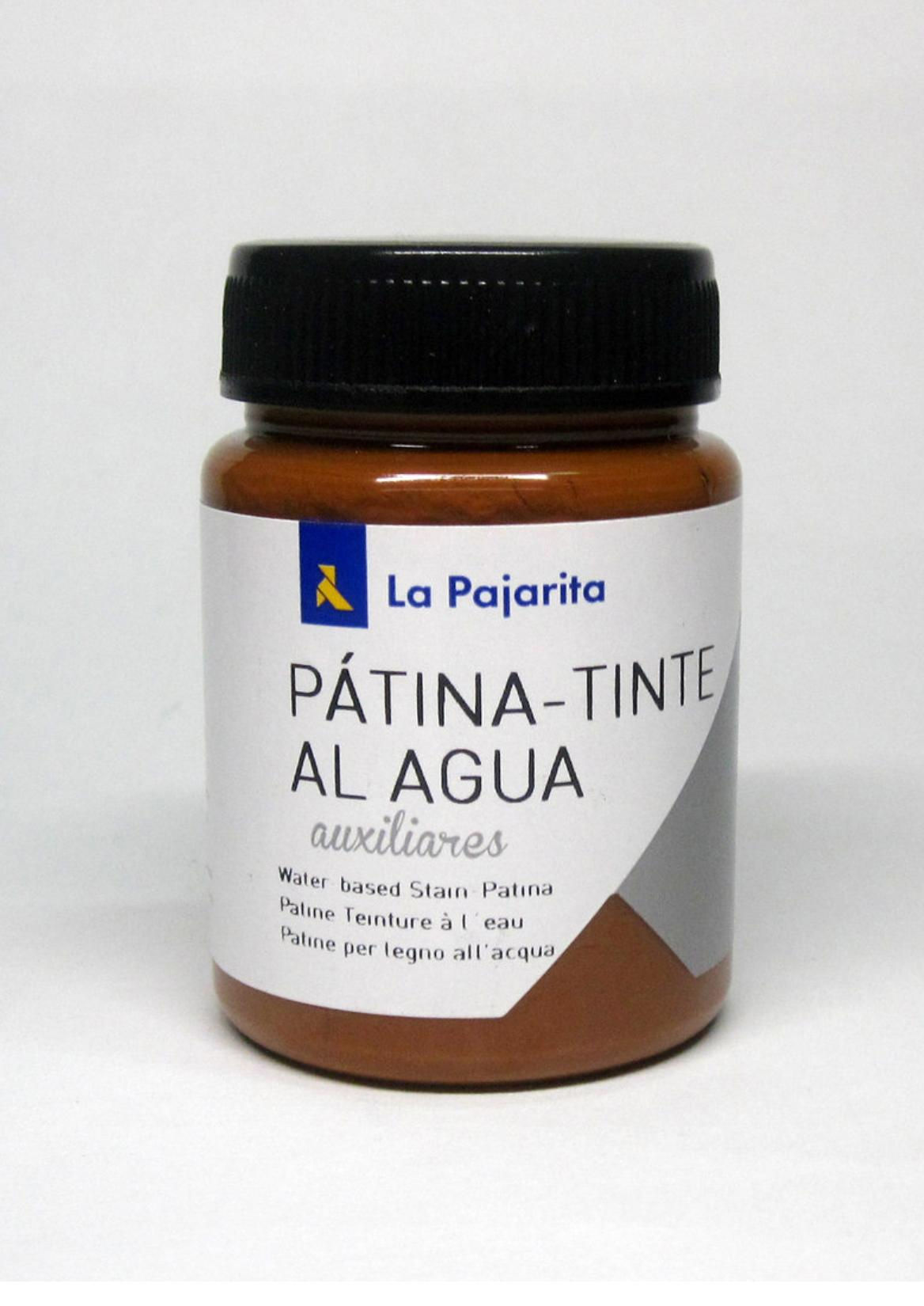 LA PAJARITA PATINA AL AGUA COLOR AVELLANA 75ML