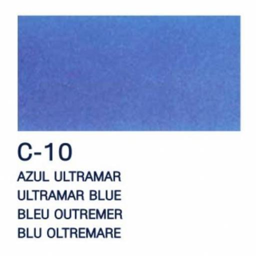LA PAJARITA PINTURA L.T. CRISTAL COLOR AZUL ULTRAMAR 50ML