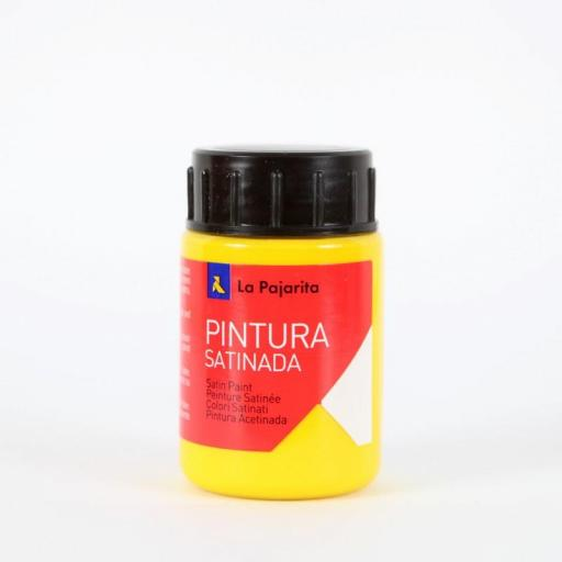 LA PAJARITA PINTURA SATINADA COLOR AMARILLO ORO 35ML
