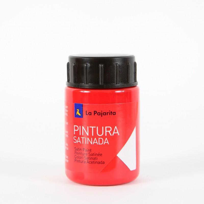 LA PAJARITA PINTURA SATINADA COLOR BERMELLON 35ML