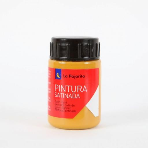 LA PAJARITA PINTURA SATINADA COLOR CALABAZA 35ML