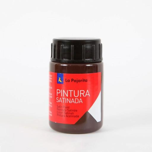 LA PAJARITA PINTURA SATINADA COLOR MARRON 35ML