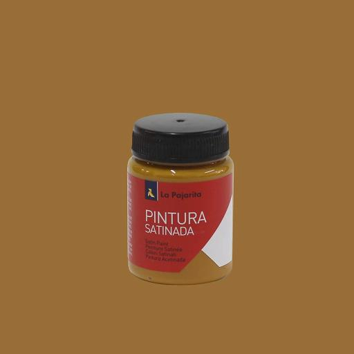 PINTURA LA PAJARITA SATINADA COLOR OXIDO  AMARILLO 35ML