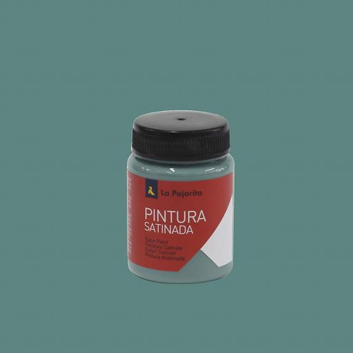 LA PAJARITA PINTURA SATINADA COLOR VERDE JADE 35ML