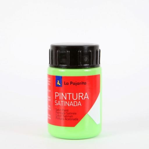 LA PAJARITA PINTURA SATINADA COLOR VERDE LORO 35ML