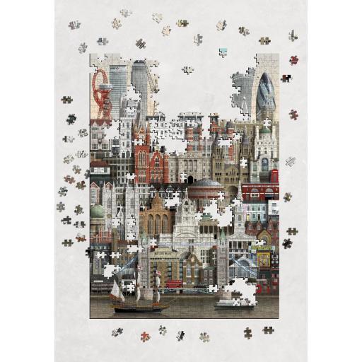 MARTIN SCHWARTZ PUZZLE LONDON 1000 PIEZAS  [1]