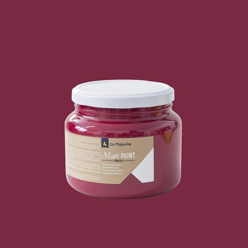 MATT PAINT INDIE RED 500ML [0]