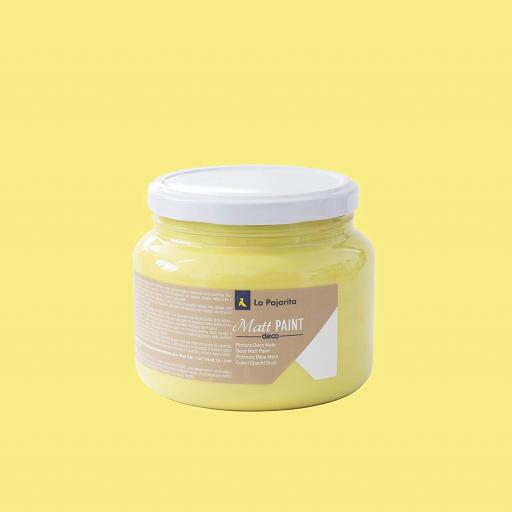 MATT PAINT LEMON 500ML