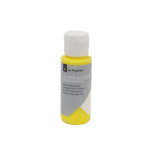 PINTURA LA PAJARITA SUPER ACRYLIC COLOR AMARILLO ORO 60ML