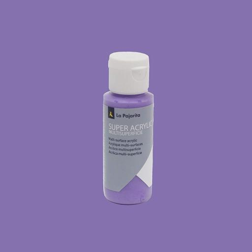 PINTURA LA PAJARITA SUPER ACRYLIC COLOR LAVANDA 60ML