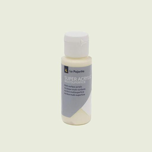 PINTURA LA PAJARITA SUPER ACRYLIC COLOR MARFIL 60ML