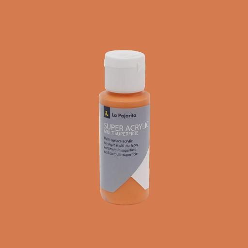 PINTURA LA PAJARITA SUPER ACRYLIC COLOR NARANJA 60ML