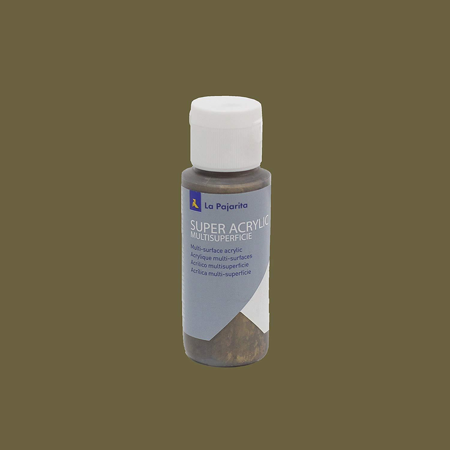 PINTURA LA PAJARITA SUPER ACRYLIC COLOR ORO BRONCE 60ML