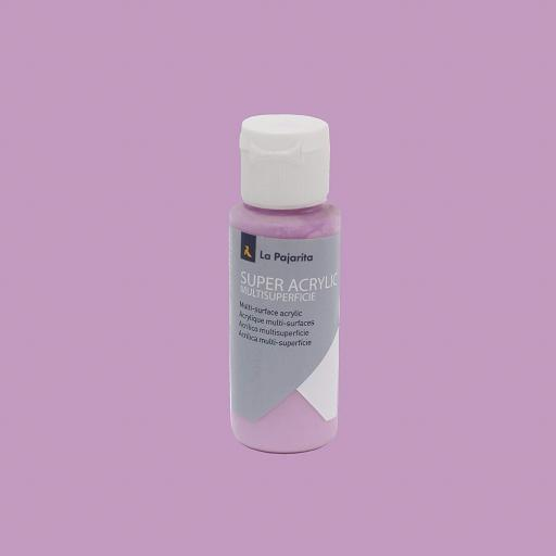 PINTURA LA PAJARITA SUPER ACRYLIC COLOR ORQUIDEA 60ML