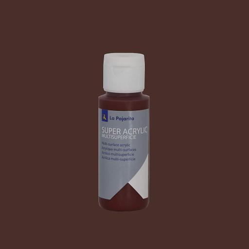 PINTURA LA PAJARITA SUPER ACRYLIC COLOR OXIDO ROJO 60ML