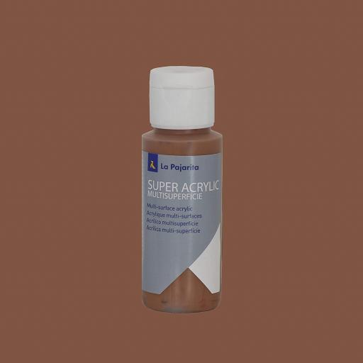 PINTURA LA PAJARITA SUPER ACRYLIC COLOR TERRACOTA 60ML