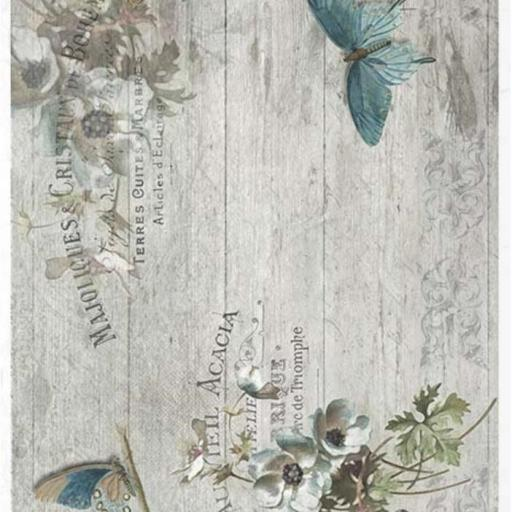 PAPEL DE ARROZ DECOUPAGE LIMITED EDITION TAMAÑO A4  REF.: R1185
