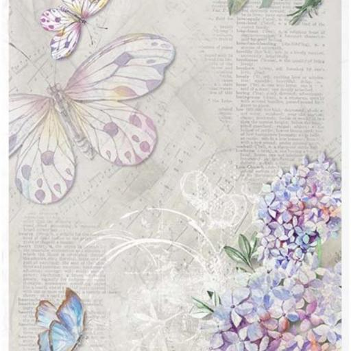 PAPEL DE ARROZ DECOUPAGE LIMITED EDITION TAMAÑO A4  REF.: R1060