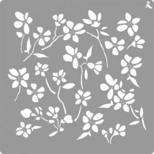 STENCIL ST01 FLOWER LA PAJARITA  [0]