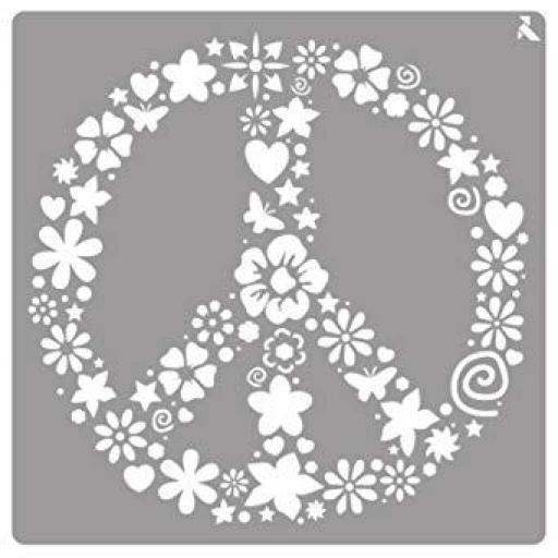 STENCIL ST020 PEACE LA PAJARITA [0]
