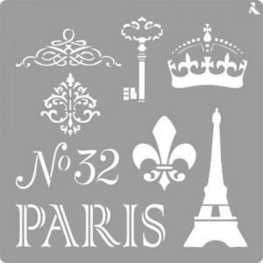 STENCIL ST06 PARIS LA PAJARITA [0]