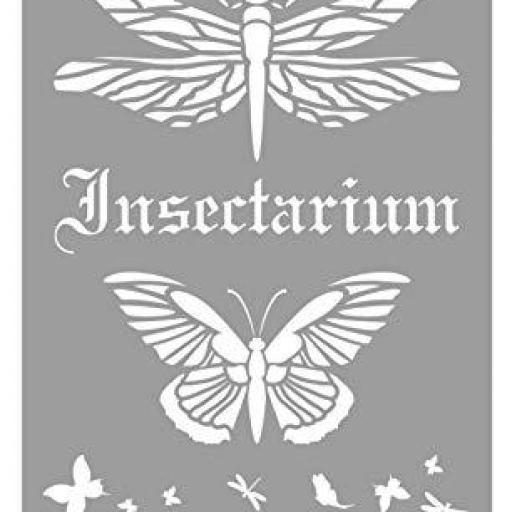 STENCIL ST13 INSECTARIUM LA PAJARITA [0]
