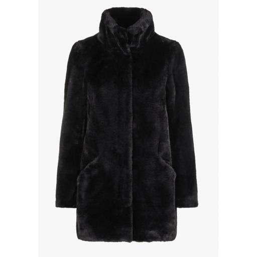 VERO MODA VMVALLILEA 3 CUARTOS FUR JACKET REF 10217399 COLOR BLACK