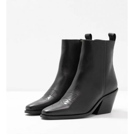 VMPALA LEATHER BOOT BLACK STYLE 10223741