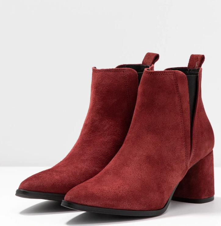 VMNIVI LEATHER BOOT MADDER BROWN STYLE 10221206