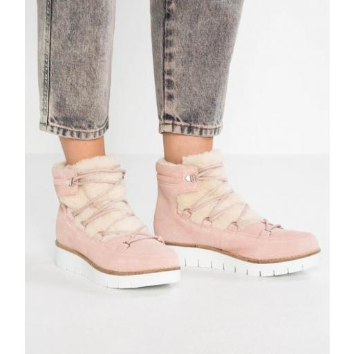 VMELSA LEATHER BOOT SEPIA AND ROSE STYLE 10202995  [3]