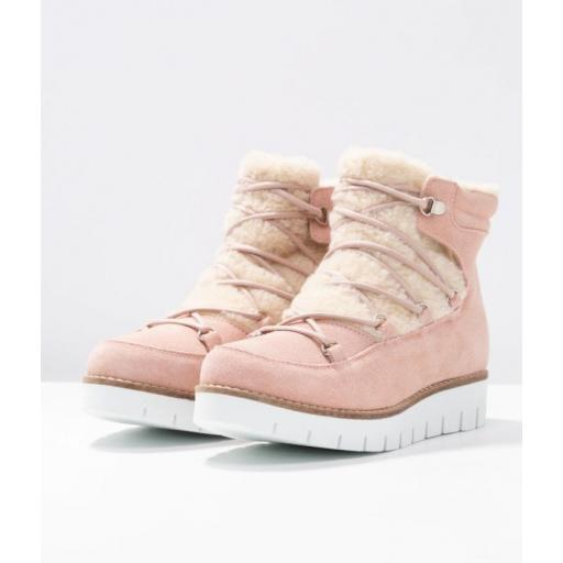 VMELSA LEATHER BOOT SEPIA AND ROSE STYLE 10202995  [0]