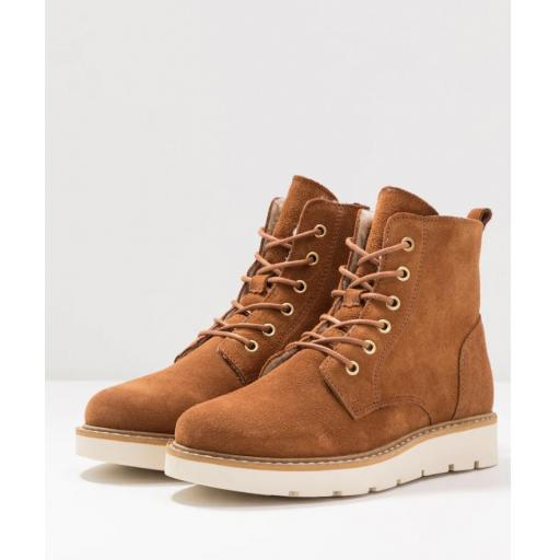 VMRIA LEATHER BOOT COGNAC STYLE 10218946