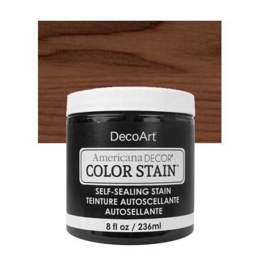 AMERICANA DECOR COLOR STAIN ®  REF.:  ADCS  19 CHOCOLATE  236 ML