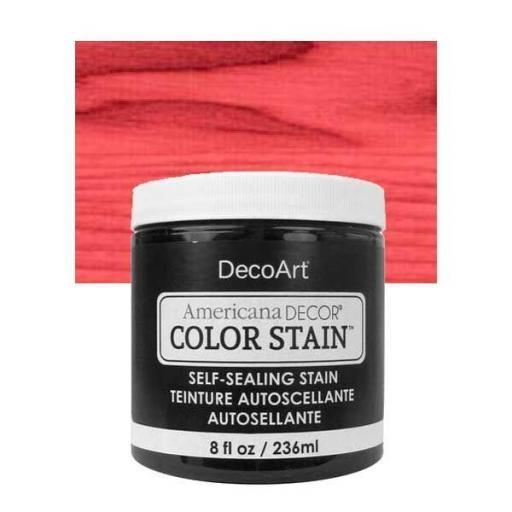 AMERICANA DECOR COLOR STAIN ®  REF.:  ADCS 08 CORAL  236 ML